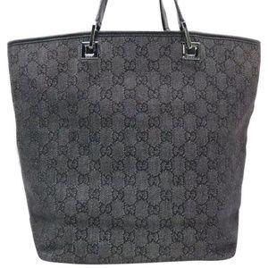 Gucci GG Logo Hobo Bucket Shoulder Bag,